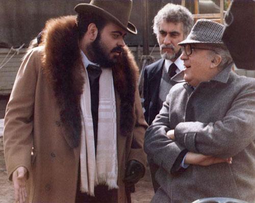 Con il Maestro Federico Fellini sul set di E la nave va