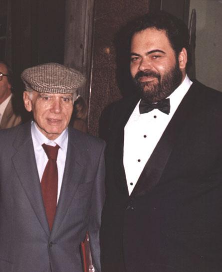 Victor Poletti con il Maestro Comencini