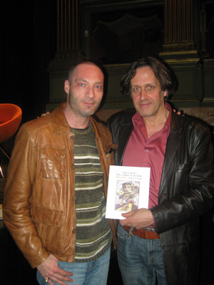 Gaetano Cuffari e Stephen Alcorn alla mostra Cantabile Compagnia