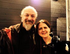 Eugenio Finardi con Gioia Lomasti