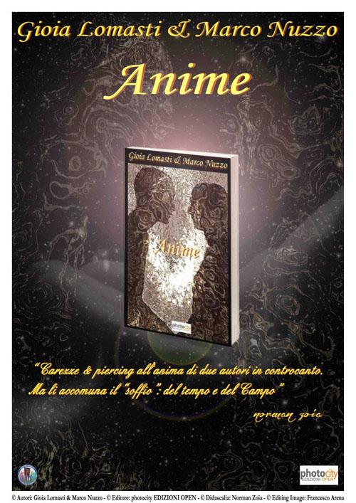 Locandina Anime di Gioia Lomasti e Marco Nuzzo