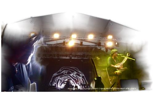 Cristiano De André sul palco