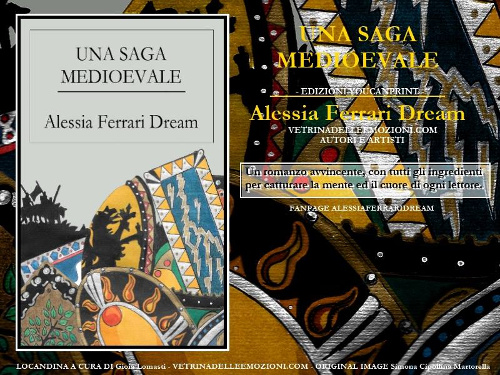 Locandina Una Saga Medioevale di Alessia Ferrari Dream