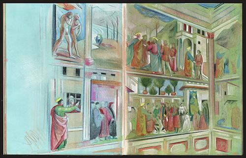 Masaccio Brancacci Studi 31 3 .2016