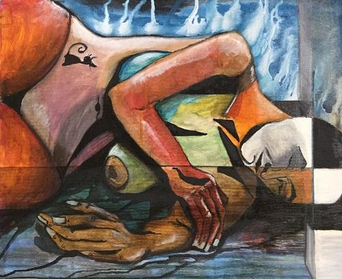 Donna - olio - 40x50